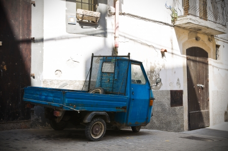 rodi: Alleyway  Rodi Garganico  Puglia  Italy  Stock Photo