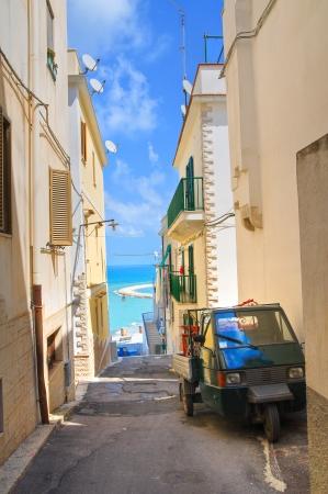 rodi garganico: Alleyway. Rodi Garganico. Puglia. Italy.  Stock Photo