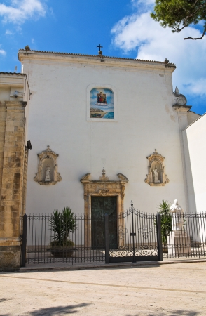 rodi garganico: Church of Madonna della Libera. Rodi Garganico. Puglia. Italy.