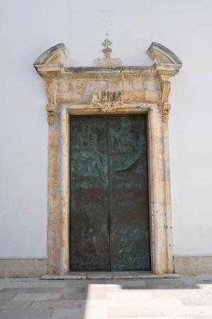 rodi: Church of Madonna della Libera. Rodi Garganico. Puglia. Italy.
