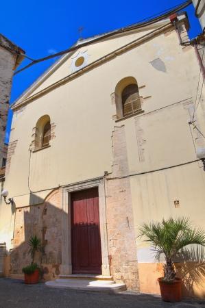 rodi garganico: Church of St Pietro. Rodi Garganico. Puglia. Italy.