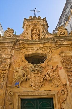 Arditi chapel. Presicce. Puglia. Italy.