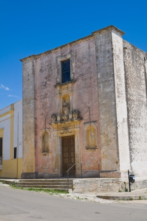 immaculate: Church of Immaculate. Felline. Puglia. Italy. Stock Photo
