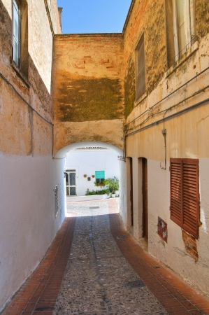 basilicata: Alleyway. Pisticci. Basilicata. Italy.