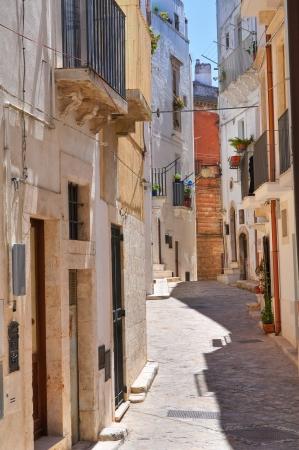 Alleyway in Putignano, Italy  Stock Photo
