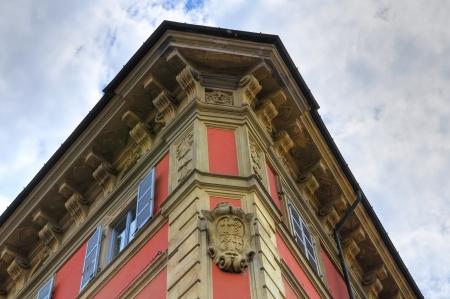 piacenza: Historical palace. Piacenza. Emilia-Romagna. Italy.