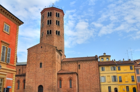 piacenza: Basilica of St. Antonino. Piacenza. Emilia-Romagna. Italy.