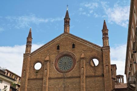 piacenza: St. Francesco church. Piacenza. Emilia-Romagna. Italy.