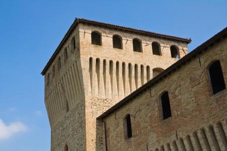 bulwark: Castle of Fontanellato in Emilia-Romagna, Italy.