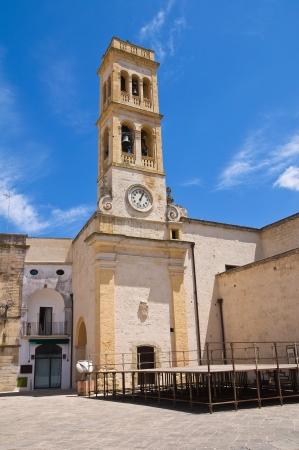 clocktower: Clocktower  Specchia  Puglia  Italy  Stock Photo