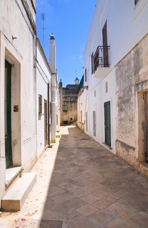 urbanistic: Alleyway  Specchia  Puglia  Italy   Stock Photo