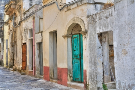 Alleyway  Tricase  Puglia  Italy  Stock Photo