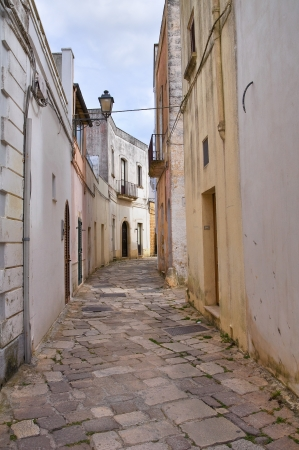 urbanistic: Alleyway  Tricase  Puglia  Italy  Stock Photo