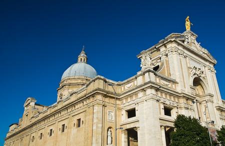 angeli: St  Maria degli Angeli Basilica  Assisi  umbria  Italy  Stock Photo