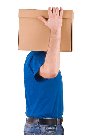 Delivery man   photo