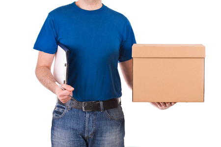 shipper: Delivery man