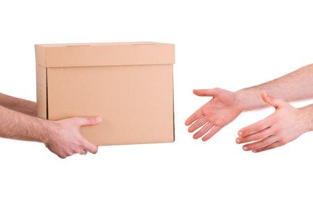 deliveryman: Uomo di consegna.