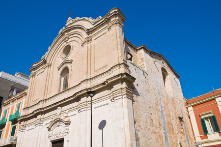 francesco: Church of St. Francesco. Monopoli. Puglia. Italy.