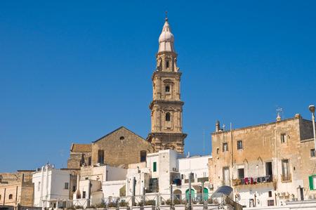 Panoramic view of Monopoli. Puglia. Italy. photo