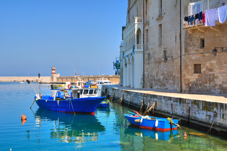 Old port  Monopoli  Puglia  Italy  photo