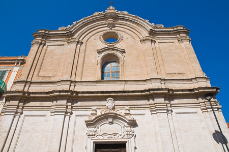 francesco: Church of St  Francesco  Monopoli  Puglia  Italy  Stock Photo