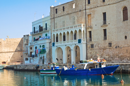 Old port. Monopoli. Puglia. Italy. photo