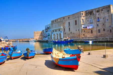 puglia: Old port. Monopoli. Puglia. Italy. Stock Photo