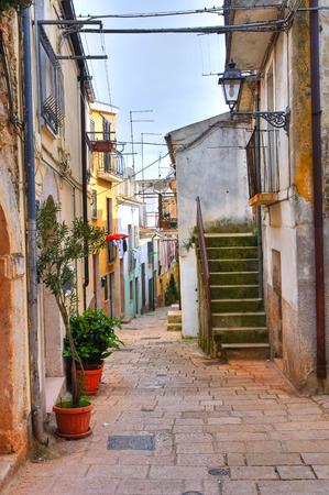 rotondo: Alleyway. San Giovanni Rotondo. Puglia. Italy.