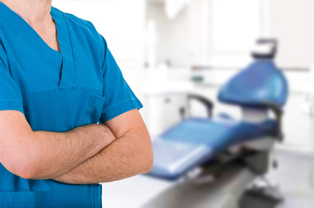dental nurse: Medical doctor. Stock Photo