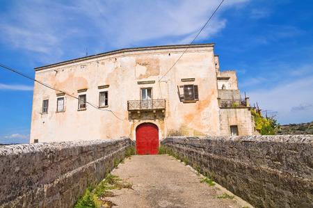 norman castle: Norman Castle of Ginosa. Puglia. Italy.