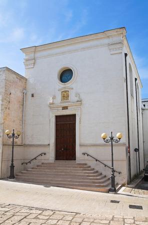martino: Church of St. Martino. Ginosa. Puglia. Italy.