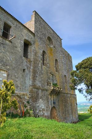 Castle of Montescaglioso. Basilicata. Italy.