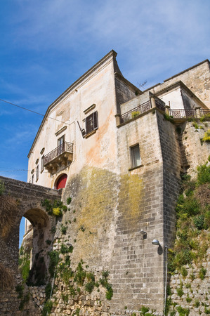 norman castle: Norman Castle of Ginosa  Puglia  Italy