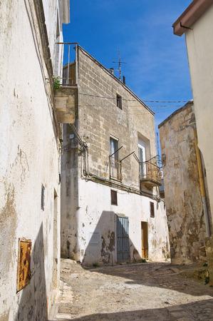 basilicata: Alleyway. Montescaglioso. Basilicata. Italy.