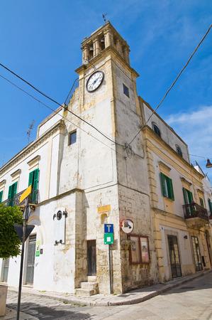 clocktower: Clocktower. Montescaglioso. Basilicata. Italy.