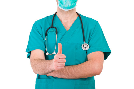 infirmary: Medical doctor  Stock Photo