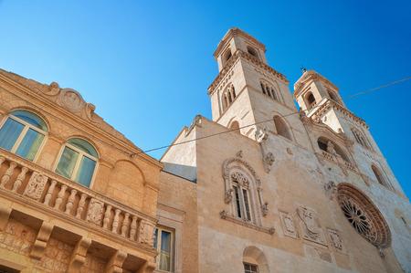 Duomo Cathedral of Altamura  Puglia  Italy  photo