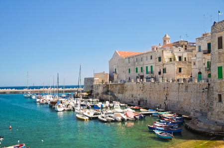urbanistic: Panoramic view of Giovinazzo  Puglia  Italy  Editorial