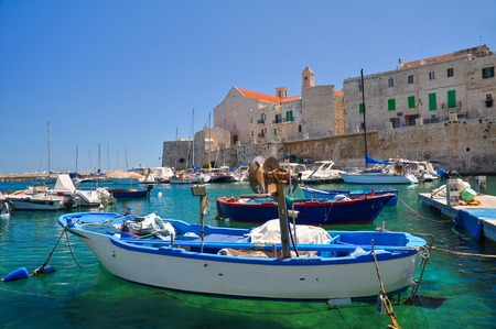Panoramic view of Giovinazzo  Puglia  Italy  Stock Photo