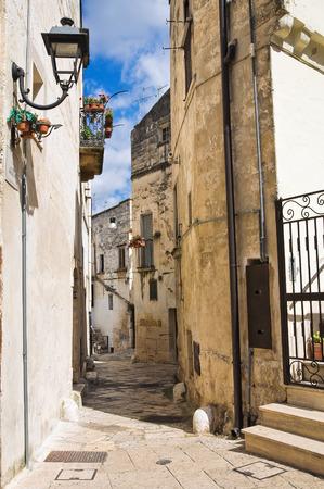 puglia: Alleyway. Altamura. Puglia. Italy.