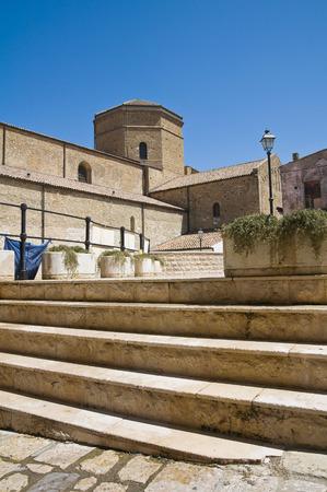 basilicata: Alleyway. Acerenza. Basilicata. Italy.