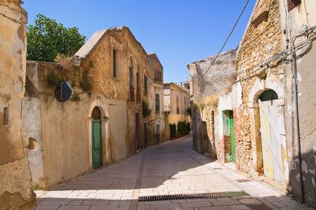 lucania: Alleyway. Genzano di Lucania. Italy.
