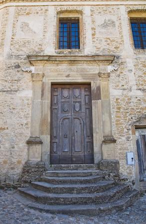 lucania: Church of Annunziata. Genzano di Lucania. Italy.