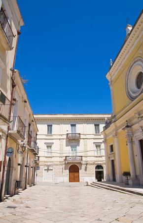 foggia: Alleyway. San Severo. Puglia. Italy. Editorial