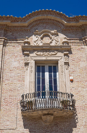 foggia: Franciscan monastery. San Severo. Puglia. Italy.  Stock Photo