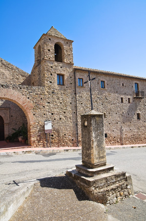 Franciscan monastery. Rocca Imperiale. Calabria. Italy. photo
