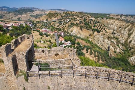 swabian: Swabian Castle of Rocca Imperiale. Calabria. Italy. Editorial