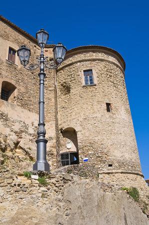 calabria: Castle of Oriolo. Calabria. Italy. Editorial