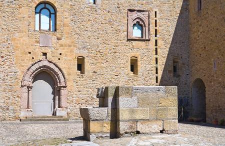 urbanistic: Lagopesole Castle. Basilicata. Italy.  Editorial