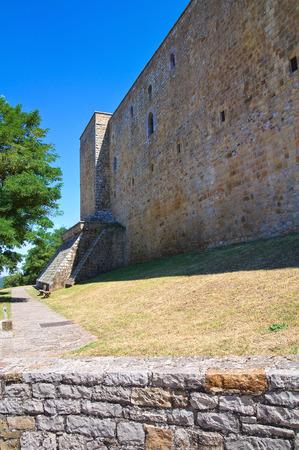 basilicata: Lagopesole Castle. Basilicata. Italy.  Editorial